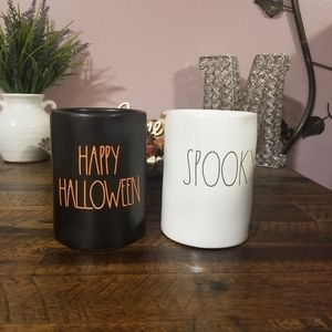 Rae Dunn Halloween Candles